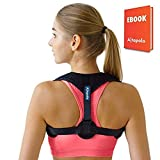 Posture Corrector for Men & Women - Adjustable Shoulder Posture Brace - Figure 8 Clavicle Brace for Posture Correction and Alignment -Invisible Thoracic Back Brace for Hunching