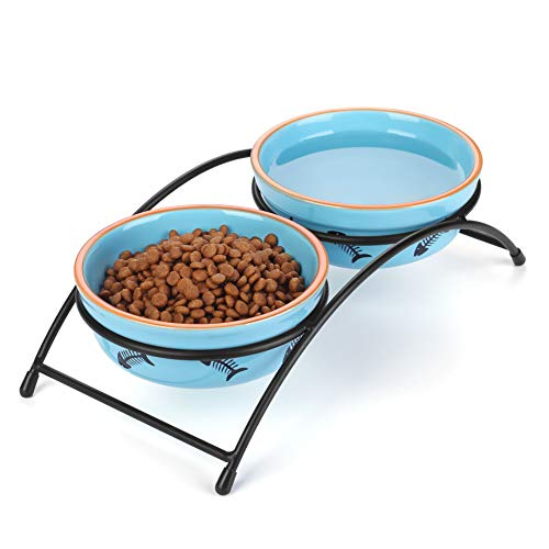 Elevated Fish Water Bowl