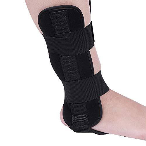 Soporte de Estribo de Tobillo, óRtesis de CaíDa de pie, Estabilizador de Tobillo Ajustable, FéRula de CorreccióN de ProteccióN para Esguince y RecuperacióN de Artritis