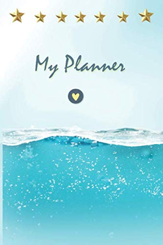 My Planner: Plan and achieve your success goals - Increase productivity with this journal