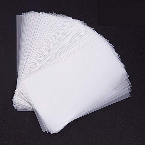 Pandahall Elite 600 Bolsas de celofán de 10 x 6 cm, Transparente, Bolsas para Joyas Galletas Pastelería, Rectángulare, Aprox. 600 Unidades/Bolsa