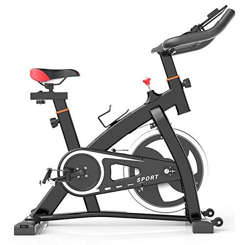 WKDZ Bicicleta de Ejercicio, la Pérdida de Peso del Ejercicio de Home Fitness Aptitud de Bicicletas Multifuncional Bicicleta Gym Equipment (Color : Negro)