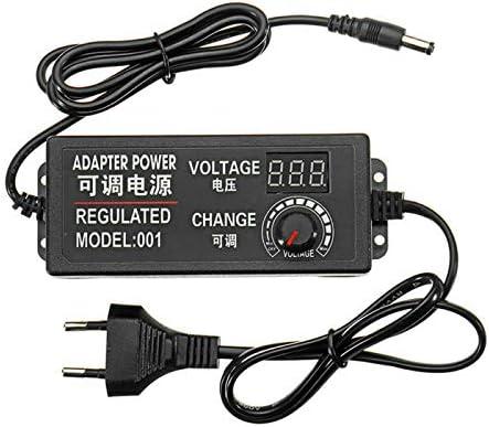Be Tool Einstellbarer Netzadapter Ac Dc 9 24v 3a 72w Adapter Verstellbarer Stecker Universal Netzteil Adapter Für Dc Motordrehzahlregelung Lichtdimmer Baumarkt