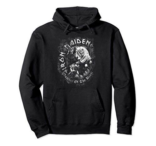 Iron Maiden - Number Of The Beast Sudadera con Capucha