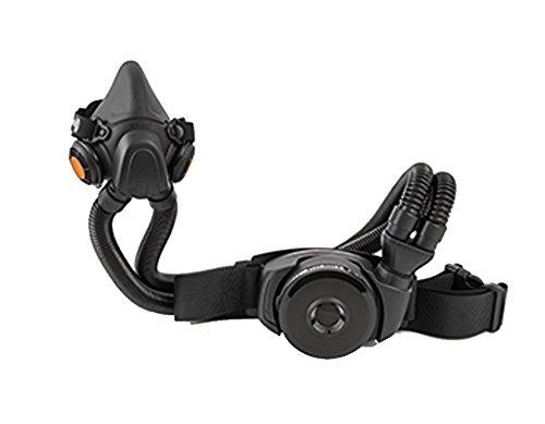 Sundström Atemschutz Halbmaske Filter SR 900/905 mir Rücken und Schlauch System (S)