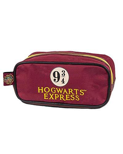 Groovy Harry Potter Hogwarts Express 9 & 3/4 - Neceser (tamaño Mediano), Color Rojo