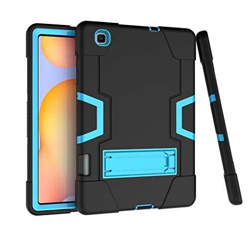 DOOGE Capa para Samsung Galaxy Tab S6 Lite 10.4 2020, capa protetora híbrida resistente com absorção de choque, antiarranhões e suporte para Galaxy Tab S6 Lite SM-P610/P615