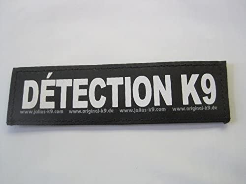 DETECTION K9 Small Package of 2 Julius K9 Labels for Harnesses product image