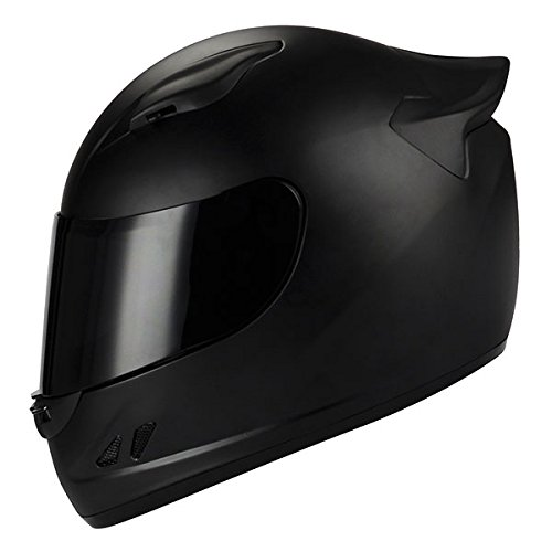 1STORM MOTORCYCLE BIKE FULL FACE HELMET MECHANIC MATT BLACK