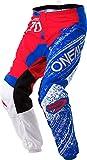 ELEMENT Pants BURNOUT red/white/blue 34/50