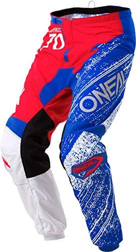 O'NEAL Element Burnout MX DH MTB Pant Hose lang blau/weiß/rot 2018 Oneal: Größe: 32 (48)