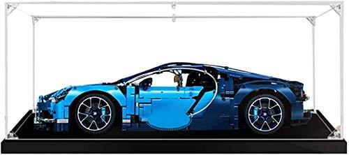 ZHLY Vitrine Schaukasten Für Lego Bugatti Chiron Display Case Acryl Schaukasten für Lego 42083
