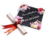 GradWYSE Handmade Graduation Cap Topper Graduation Gifts Graduation Cap Decorations, Nevertheless She Persisted