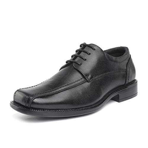 Bruno Marc Men's Black Classic Leather Dress Oxford Shoes Thomson-01 Size 10 M US