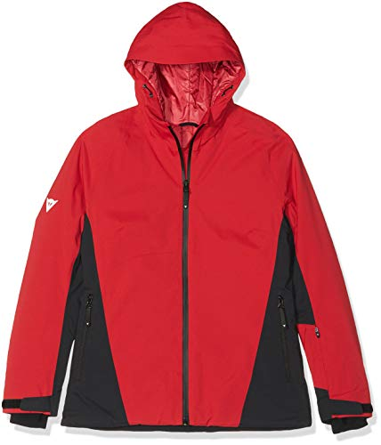 Dainese Hp2 L4 Blouson de Ski Femme, Chili-Pepper/Stretch-Limo/Stretch-Limo, FR : M (Taille Fabricant : M)