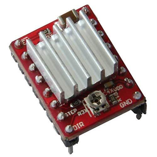 ZHANGSHENG ZSHENG 50pcs/lot Stepstick Reprap Stepper Motor Driver Pololu A4988 Module With Heatsink For 3D Printer