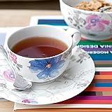 Villeroy und Boch - Mariefleur Gris Basic Kaffee-Set, 18 tlg., Premium Porzellan, spülmaschinen-, mikrowellengeeignet, weiß/bunt - 2