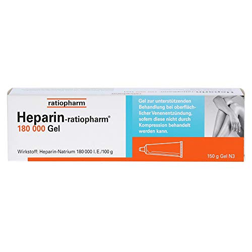 Heparin-ratiopharm 180 000 Gel, 150 g