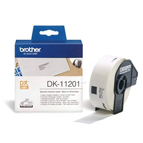 BROTHER P-Touch DK-11201 die-cut standard address label 29x90mm 400 labels