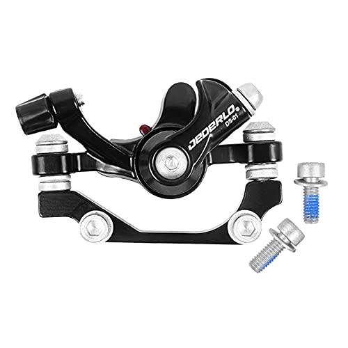 perfeclan Freno a Disco Idraulico Freno a Disco Meccanico Freno a Disco Meccanico Pinze per Attrezzi Anteriore/Posteriore per Mountain Bike - Anteriore F160 R140