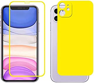 Phone Screen Protectors - for 11 ENKAY Full 0.26mm 2.5D Front Tempered Glass Full Coverage Film and Black Film with Camera...