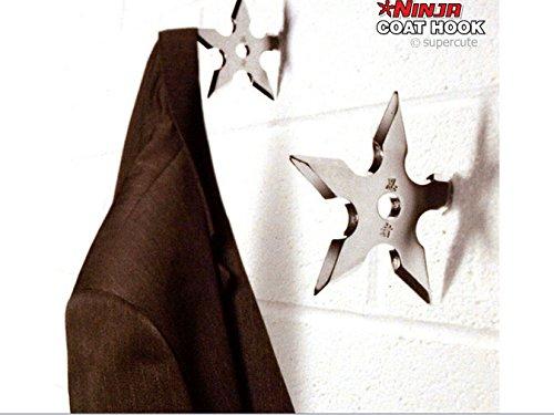 Hwydo 1piece Ninja Throwing Estrella de la Muerte Gancho/Nin