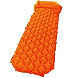 "Sleeping Pad , Relefree Upgraded Inflatable Camping Mat with Built-in Pump, 2.5"" Thick"