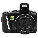 DAUERHAFT Cámara Digital de 48 MP, cámara sin Espejo, grabadora de Video de Alta definición de 2.7K, cámara Digital doméstica, Carga USB