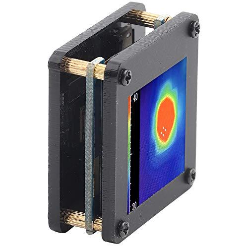 Cámara termográfica, IR 8 x 8 Sensor de temperatura de matriz de imágenes térmicas infrarrojas Cámara de imágenes térmicas USB de 5 V, distancia de detección más lejana 7 M con carcasa para comprobar