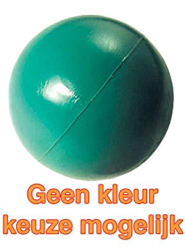 Happy Balle en caoutchouc rigide pour animal de compagnie 6,35 cm