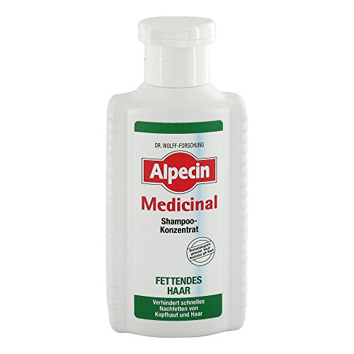 Alpecin Medicinal Shampoo Concentrate Oily Hair Shampoo - 200 ml
