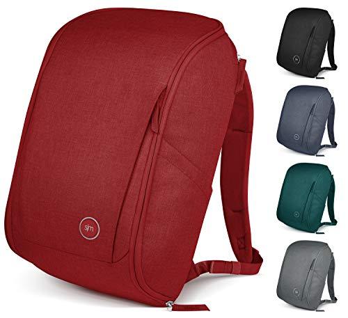 Simple Modern Rucksäcke Backpack with Laptop Compartment Wanderer Reiserucksack, Kirsche, 25 Liter
