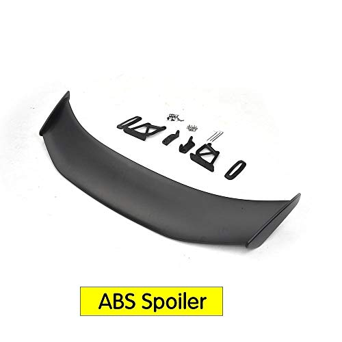 Z.L.FFLZ Autoteile Autorennen-Heckspoiler Flügel Lip for P-o-r-s-c-h-e C-a-y-m-a-n Boxster 981 GT4 Carbon Fiber Spoiler for Auto (Color : ABS, Size : Kostenlos)