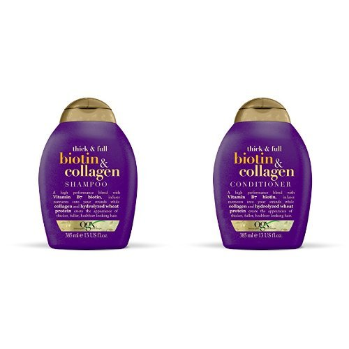 Ogx Biotin and Collagen Shampoo and Conditioner S