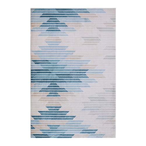 Tapis JXLBB de Salon, Métier: tissé, Taille: 1.4x2m, Motif: géométrie, Matériel: polypropylène, épaisseur: 13mm