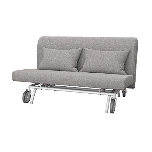 Soferia - IKEA PS Funda para sofá Cama de 2 plazas, Glam Stone