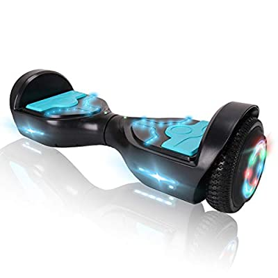 CXMPerfect Hoverboard 6.5 inch Self Balancing Scooter with Bluetooth Speaker UL2272 Certified + Carrying Bag Handbag Included
