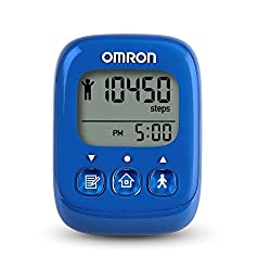 small Omron HJ325 Alvita Ultimate Pedometer, Blue