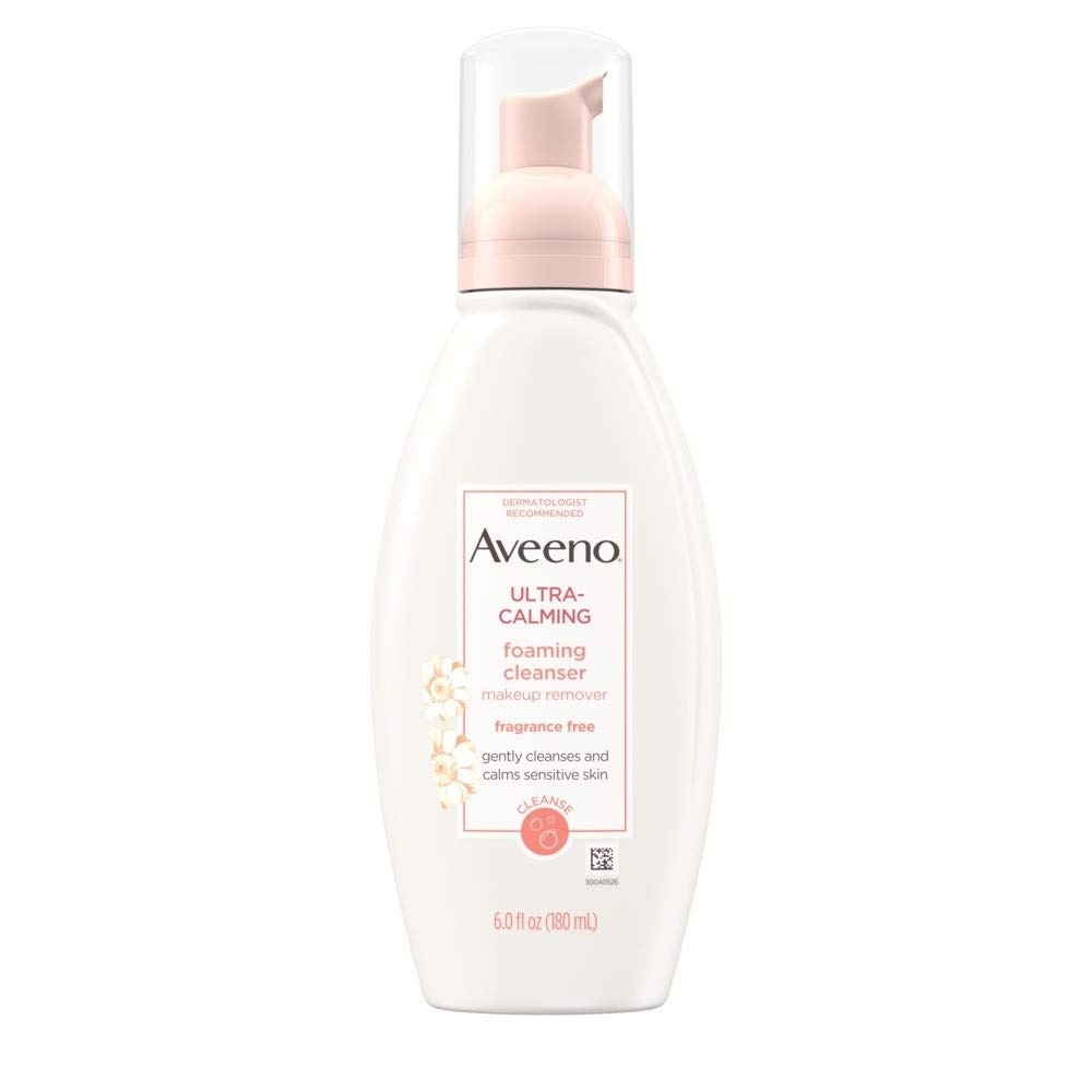 Aveeno Active NEW before selling ☆ Naturals Ultra-Calming Fragrance Japan's largest assortment Cleanser Foaming