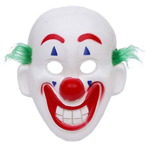 Lim 2019 Joker Masker Arthur Fleck Maskers Cosplay DC Film Clown Carnaval Kostuum Mask-Showing Tanden