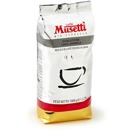 Musetti Coffee - Specialty - Evoluzione 100 % Arabica CSC - 1 kg (2.2 oz) beans