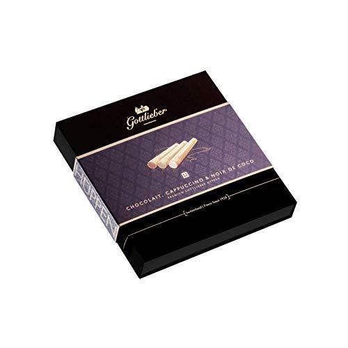 Gottlieber Premium Hüppen Chocolait, Cappuccino & Noix de Coco (06308aaa)