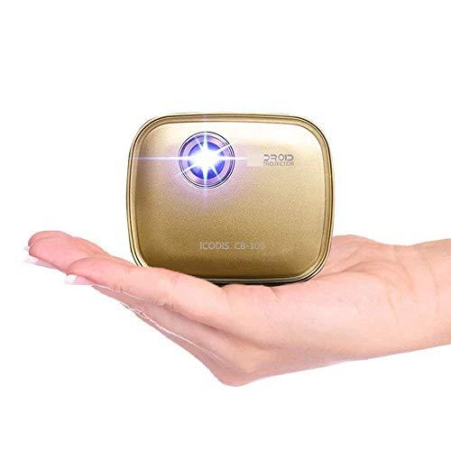 LYDIANZI Mini Smart Beam-Laserprojektor, Falten Stativ mit Halter, USB Expander - Laser Tragbare HD-Projektor - Licht