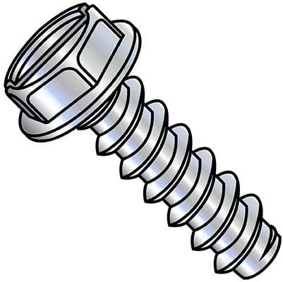 OFFicial store 12-14X5 8 Slotted Indented Hex online shopping Washer Tapping Self Type Screw B