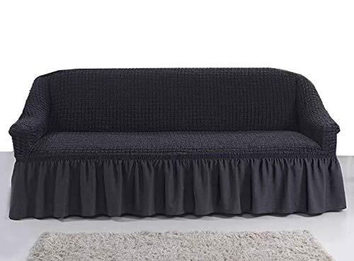 Stretch 2 Sitzer Bezug, 2 Sitzer Husse aus Baumwolle & Polyester. Sehr elastische Sofaueberwurf