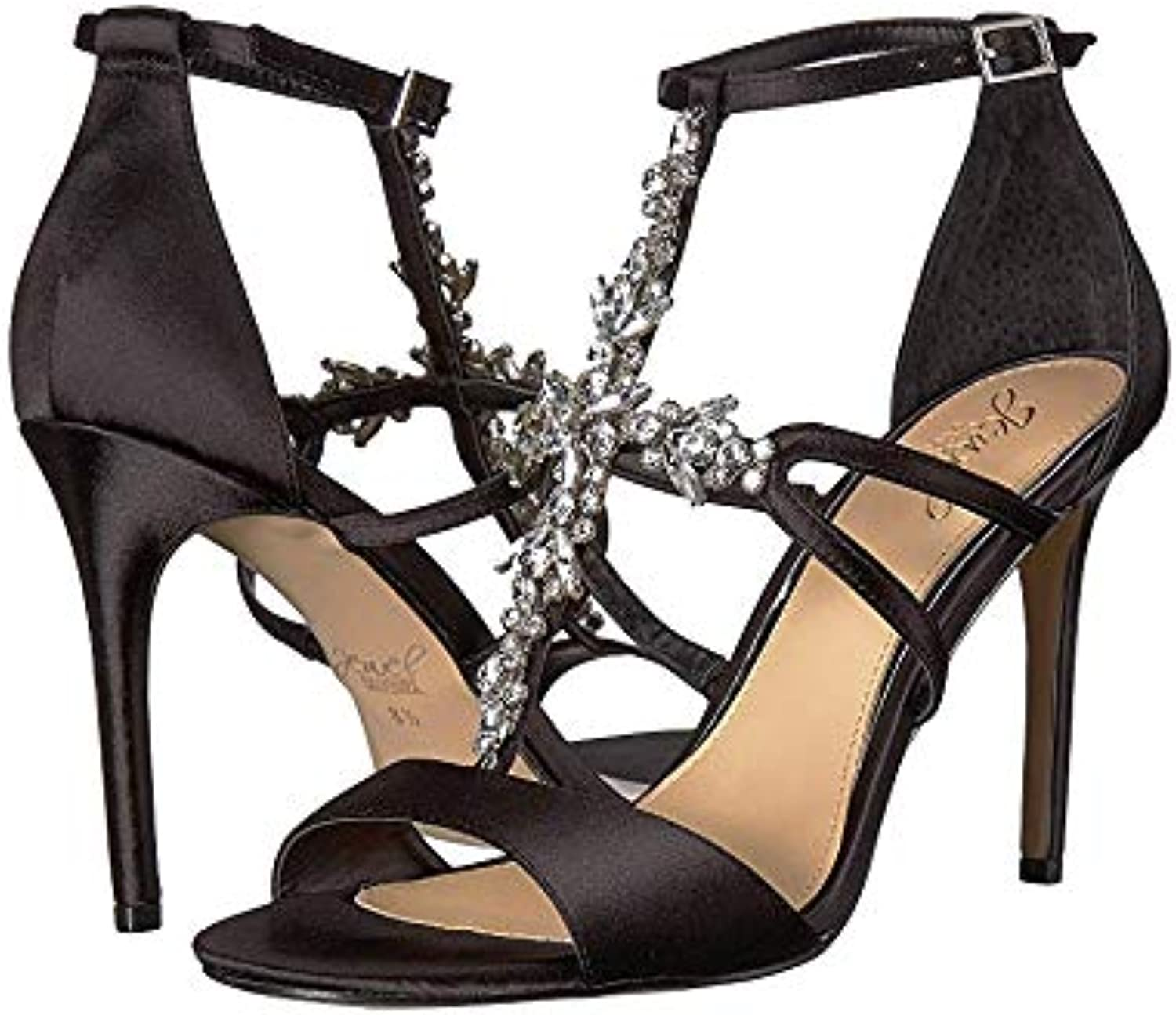 Badgley Badgley Badgley Mishka Jewel Galvin Strappy Evening Sandals, Champagne  extremt låga priser