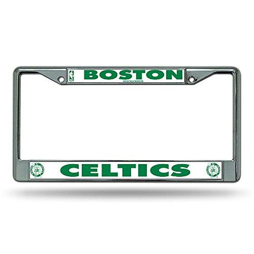 Rico Boston Celtics Chrome License Plate Frame