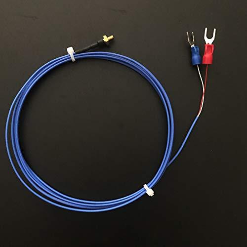 Confezione da 2 termocoppie avvitabili m3 per V5 V6 Hotend compatibile per stampanti Makerbot CTC Replicator 2/2X 3D