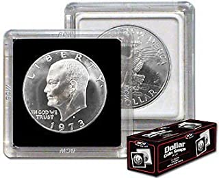 NEW BCW 2X2 COIN SNAP - DOLLAR - BLACK - PACK OF 5