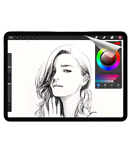 JPフィルター専門製造所 iPad Air 4 (2020) / iPad Pro 11 (2020 / 2018)インチ用のフィルム 紙のようなフィルム iPad 10.9インチ用のフィルム 紙のような描き心地 反射低減 非光沢 アンチグレア ペン先磨耗防止 保護フィルム